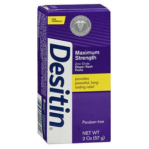 Desitin Maximum Strength Original Diaper Rash Paste 2 oz by Johnson & Johnson (2587441201237)