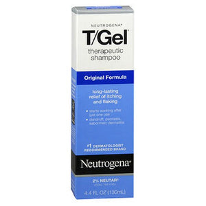 Neutrogena T/Gel Therapeutic Shampoo Original Formula 4.4 oz by Neutrogena (2587442774101)
