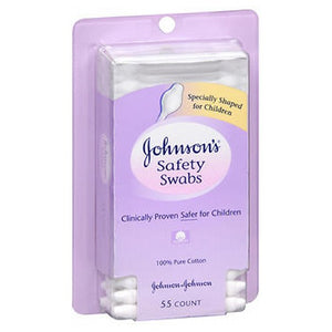 Johnsons Safety Swabs 55 each by Johnson & Johnson