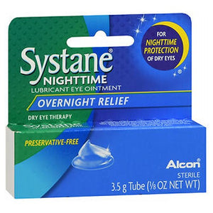 Systane Nighttime Lubricant Eye Ointment 3.5 gm by Systane