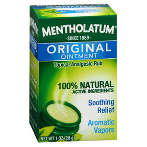 Mentholatum Ointment Jar 1 oz by Mentholatum (2587443855445)