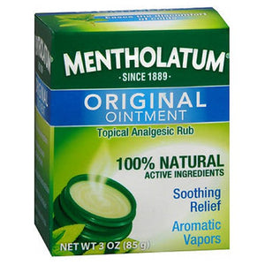 Mentholatum Topical Analgesic Ointment 3 oz by Mentholatum (2587443953749)