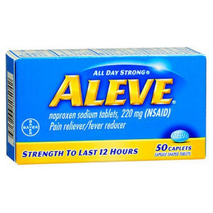 Aleve All Day Strong Pain Reliever And Fever Reducer 50 caplets by Aleve (2587444838485)