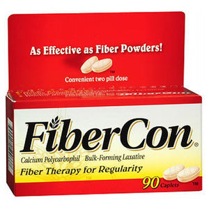 Fibercon Fiber Therapy For Regularity 90 each by Advil (2587445133397)