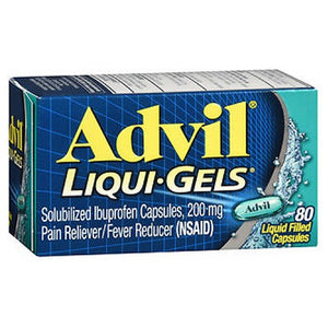 Advil Advanced Medicine For Pain 80 Liqui Gels by Advil (2587447590997)