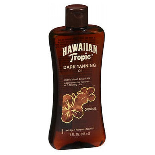 Hawaiian Tropic Dark Tanning Oil 8 oz by Hawaiian Tropic
