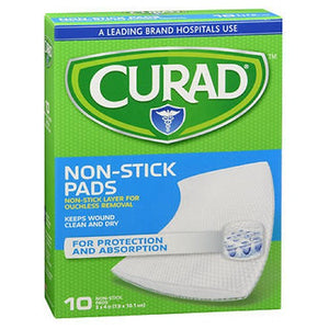 Curad Telfa Non Stick Pads 3 Inch x 4 Inches, 10 Each by Medline (2587449884757)