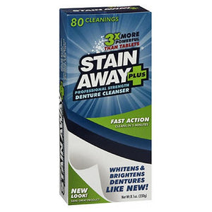 Stain Away Plus Denture Cleanser 8.1 oz by Stain Away (2587450048597)