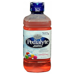 Pedialyte Liquid Bubble Gum 33.8 oz by Pedialyte