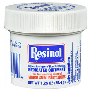 Resinol Medicated Ointment 1.25 oz by Resinol (2587451752533)