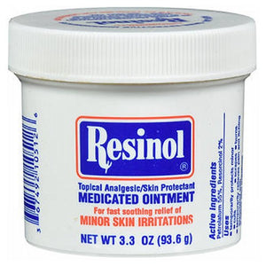 Resinol Medicated Ointment 3.3 oz by Resinol (2587977285717)