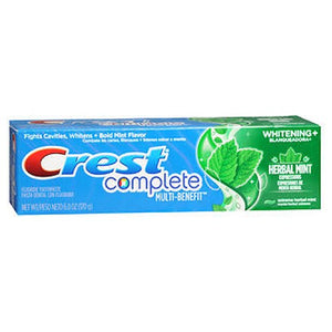 Crest Complete Whitening Expressions Fluoride Anticavity Toothpaste Extreme Herbal Mint 6 oz by Crest (2587452506197)