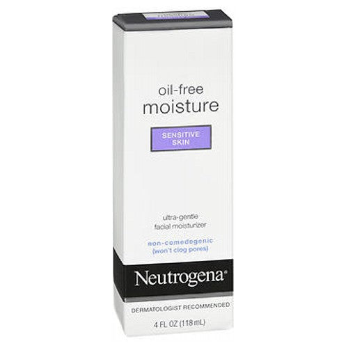 Neutrogena Oil-Free Moisture Sensitive Skin 4 oz by Neutrogena