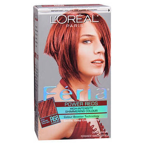 LOreal Feria Power Reds Permanent Haircolour Ruby Rush 1 each by L'oreal (2587456831573)