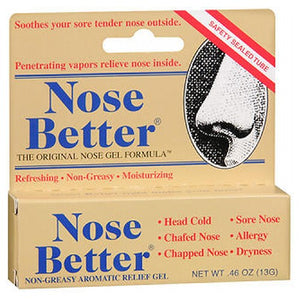 Nose Better Non-Greasy Aromatic Relief Gel 0.46 oz by Nose Better
