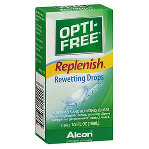 Opti-Free Replenishing Rewetting Drops 10 ml by Opti-Free