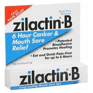 Blairex Zilactin-B Mouth Sore Gel 0.25 oz by Blairex (2587458404437)