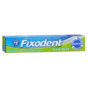 Fixodent Fresh Denture Adhesive Cream 2.4 Oz by Fixodent