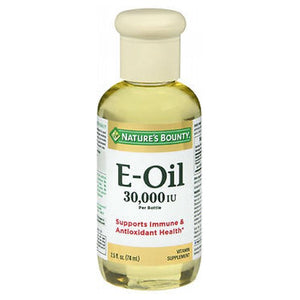 Nature's Bounty Vitamin E Oil 2.5 oz by Nature's Bounty (2587460599893)