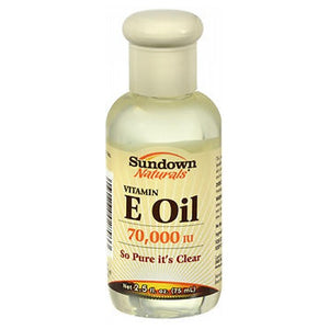 Sundown Naturals Vitamin E Oil 2.5 oz by Sundown Naturals (2587460993109)