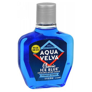 Aqua Velva Classic Ice Blue Cooling After Shave 3.5 oz by Aqua Velva (2587461976149)