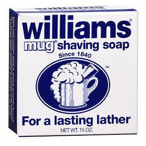 Williams Mug Shaving Soap 1.75 oz by Grecian (2587462172757)