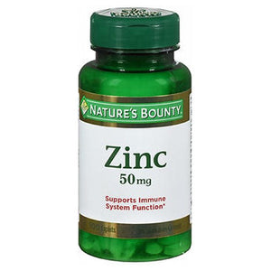 Natures Bounty Chelated Zinc 100 tabs by Nature's Bounty (2587462369365)