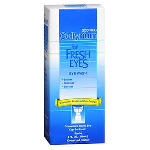 Bausch And Lomb Collyrium Soothing Eye Wash For Fresh Eyes 4 oz by Bausch And Lomb