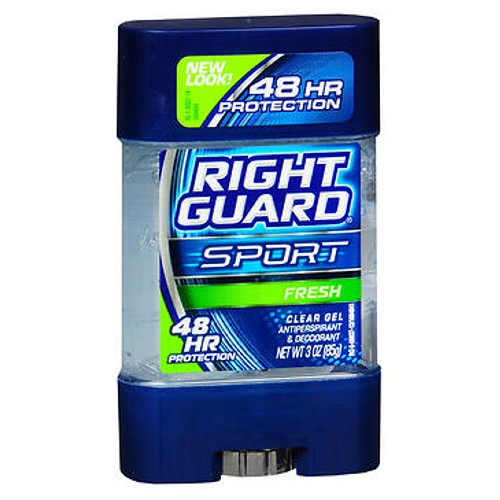 Right Guard Anti-Perspirant Deodorant Clear Gel Fresh 3 oz by Right Guard