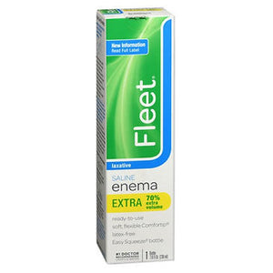 Fleet Saline Laxative - Enema Extra 7.8 oz by Fleet
