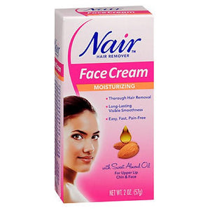 Nair Hair Removal Cream With Baby Oil For Face 2 oz by Nair (2587982102613)