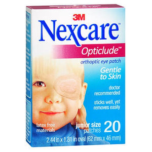 Nexcare Opticlude Orthoptic Eye Patches Junior 20 Units by Nexcare (2587464695893)