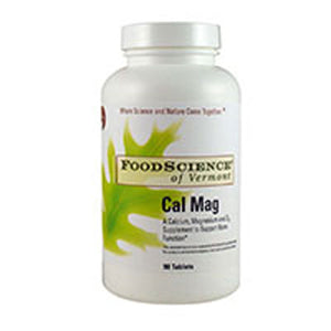 Cal-Mag 90 Tabs by Foodscience Of Vermont (2588890169429)
