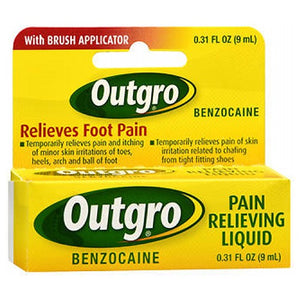 Outgro Pain Relieving Liquid 0.31 oz by Outgro