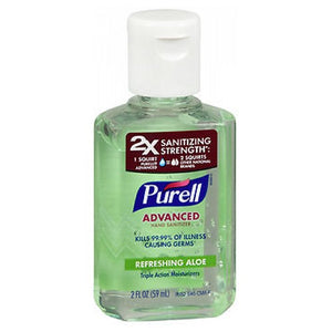Purell Advanced Hand Sanitizer Gel Aloe 2 oz by Purell (2587466530901)