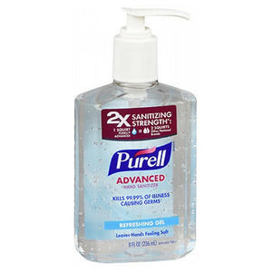 Purell Advanced Hand Sanitizer Gel With Pump Original 8 oz by Purell (2587466956885)