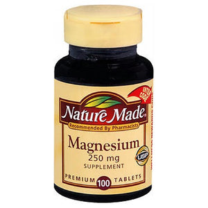 Nature Made Magnesium 100 tabs by Nature Made (2587468595285)