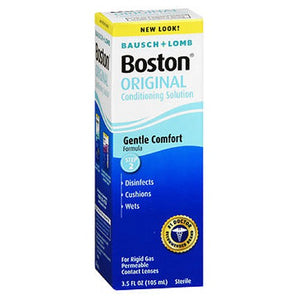 Bausch And Lomb Boston Improved Formula Conditioning Solution For Contact Lenses 3.5 oz by Bausch And Lomb (2587982790741)