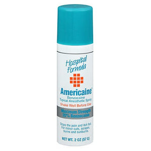 Americaine Benzocaine Topical Anesthetic First Aid Spray 2 oz by Americaine (2587469119573)
