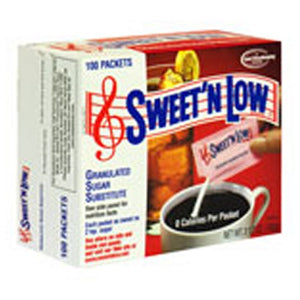 Sweet N Low Granulated Sugar Substitute Packets 120 each by Sweet N Low