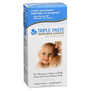 Summers Laboratories Inc Triple Paste Medicated Ointment For Diaper Rash 2 oz by Summers Laboratories Inc
