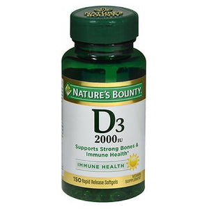 Nature's Bounty Super Strength D3 100 tabs by Nature's Bounty (2587471216725)