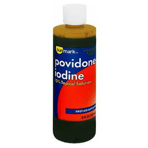 Povidone-Iodine 10% Topical Solution 8 oz by Sunmark (2587471609941)