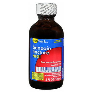 Benzoin Tincture 2 oz by Sunmark (2587471708245)