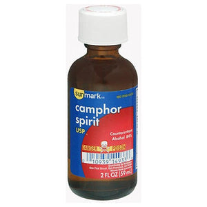 Camphor Spirit 2 oz by Sunmark (2587983675477)