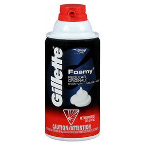 Gillette Foamy Shave Foam Regular 11 oz by Gillette (2587472691285)