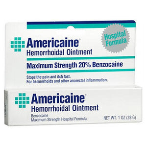Americaine Hemorrhoidal Ointment 1 oz by Americaine (2587473248341)