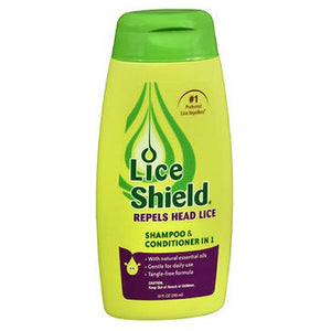 Lice Shield Shampoo And Conditioner 10 oz by Lice Shield (2587473412181)