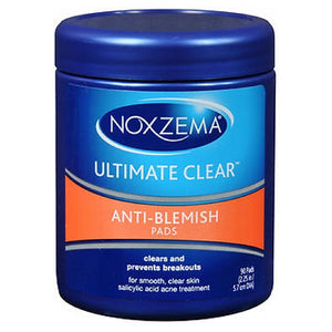 Noxzema Ultimate Clear Anti-Blemish Pads 90 each by Noxzema (2587474526293)