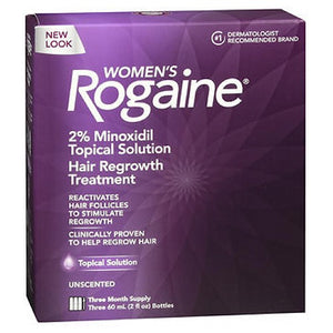 Women's Rogaine Topical Solution 3 x 2 fl oz by Rogaine (2587474985045)